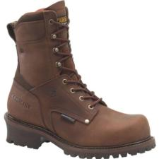 Carolina Men's 8 in. Waterproof  Insulated Broad Toe Steel Toe Logger CA8508