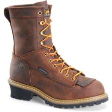 Carolina Men's  8 in. Waterproof Soft Toe Logger Boot CA8824