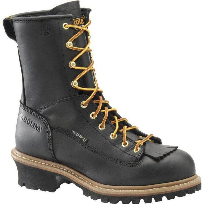 Carolina Men S 8 In Waterproof Lace To Toe Logger Boots
