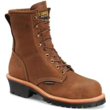 Carolina_Carolina Men's 8 in. Waterproof Soft Toe Logger Boot-MADE IN USA