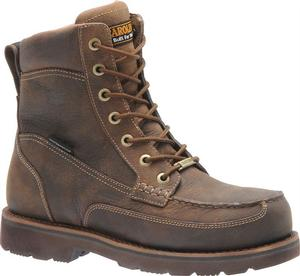 Carolina Men's 8 in. Waterproof EH Aluminum Moc Toe Boot
