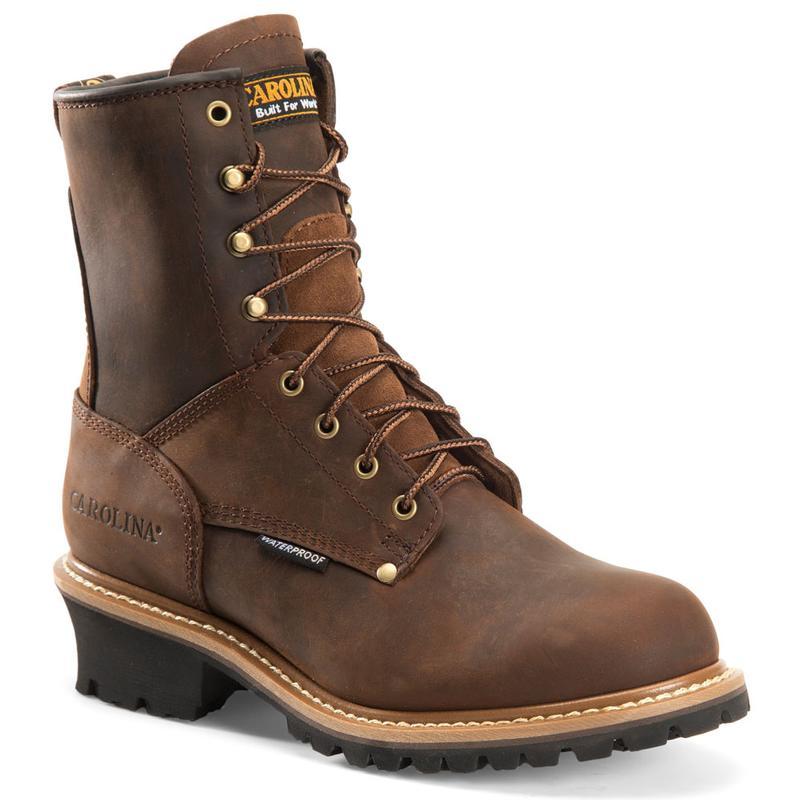 Waterproof Steel Toe Logger Boots CA9821