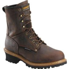 Carolina Men's 8 in. Waterproof Steel Toe Logger Boots CA9821