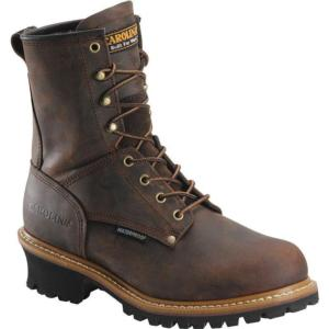 Carolina Men's 8 in. Waterproof Steel Toe Logger Boots