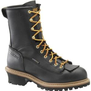 Carolina Men's 8 in. Waterproof Steel Lace to Toe Logger Boots