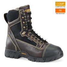 Carolina Men's 8 in. FLAME RESISTANT  Waterproof Internal Metguard Composite Toe Boot FR1500