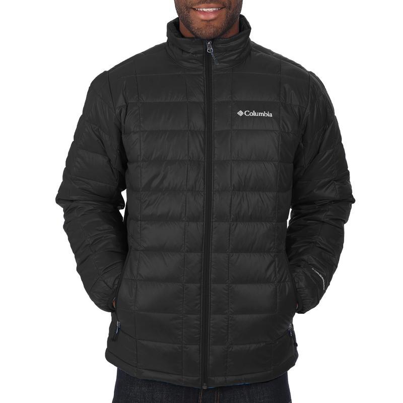 Columbia Mens Trask Mountain 650 TurboDown Vest Large Black