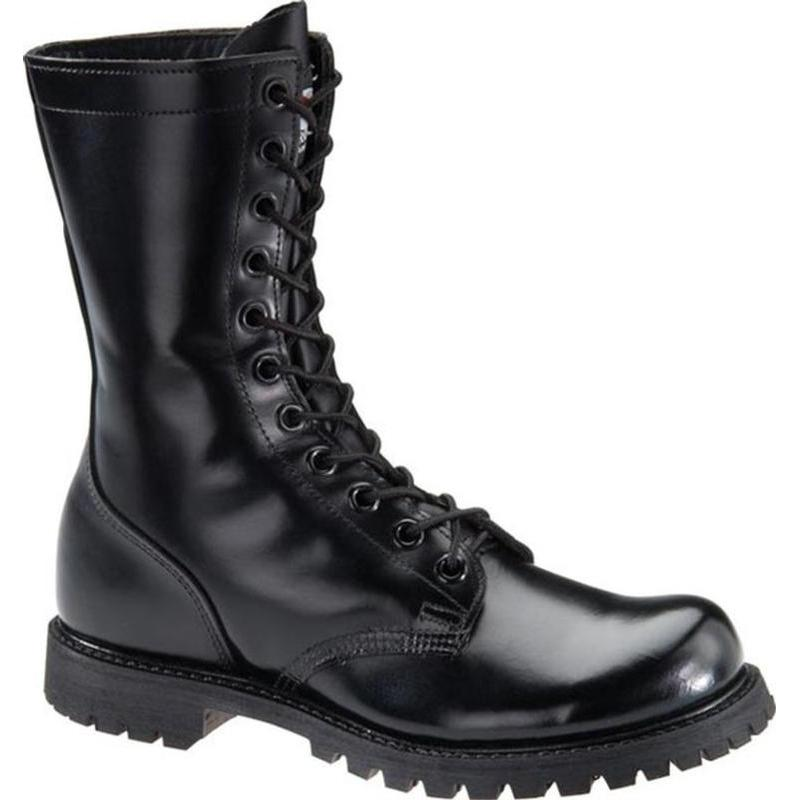 Corcoran Men S 10 In Plain Toe Combat Boots Made In Usa 978