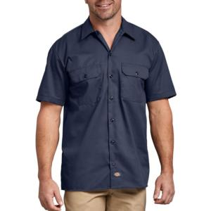 Dickies Men's Short Sleeve Work Shirts