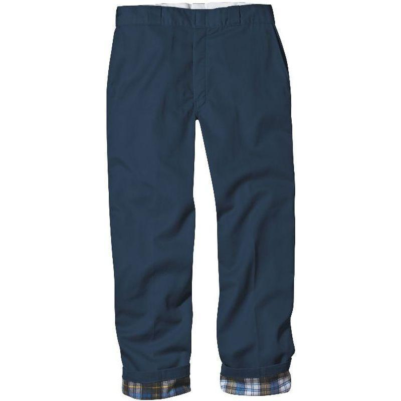 Jeans With Flannel Lining For Men