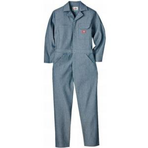 Dickies Men's Fisher Stripe Cotton Coveralls