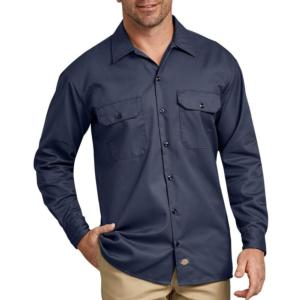 Dickies Men's Long Sleeve Work Shirts