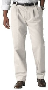 Dockers Men's ® True Chino- Pleated Front Pants