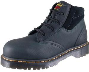 Dr. Martens 7B09 Men's Industrial Steel Toe  4 Eyelet Boot-Medium Width