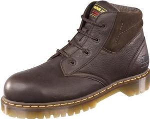 Dr. Martens 7B09 Men's Industrial Steel Toe New Icon 4 Eyelet Boot-Medium Width