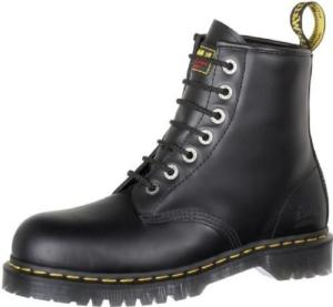 Dr. Martens Men's 7B10  Industrial Steel Toe New Icon 7 Eyelet Boot-Extra Wide Width