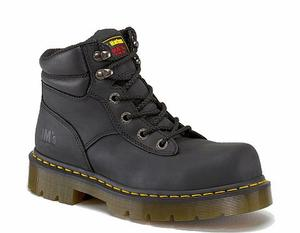 Dr. Martens Men's Burnham Industrial Steel Toe Hiker Boots-Medium Width