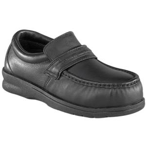Florsheim Men's Comfortech Pucker Moc Casual Steel Toe Slip On Shoe