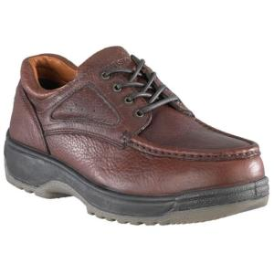 Florsheim Men's Eurocasual Moc Toe Oxford Steel Toe Shoes