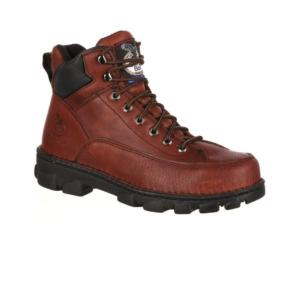 Georgia Men's  6 in. Eagle Light Wide Load Steel Toe EH Work Boot