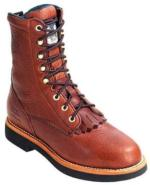 Georgia Men's  8in. Barracuda Lacer Oil Resistant  Work Boot G7014