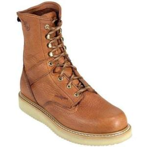 Georgia Men's  8 in. Barracuda Gold Wedge Work Boot