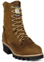 Georgia Men's  8in. Steel Toe Waterproof  Gore-Tex Insulated Logger G9382