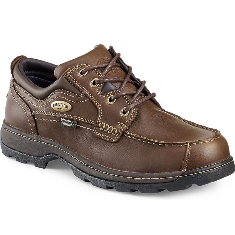 3874. Irish Setter Men's Soft Paw UltraDry Leather Oxford Shoes. Crafted  from comfortable full-grain ...