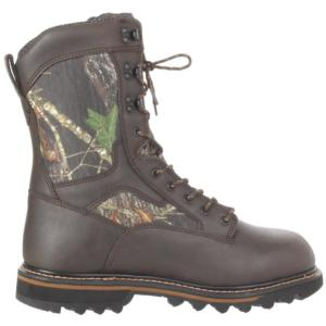 Irish Setter Men's 11 in.  Gunflint Mossy Oak Break-Up Waterproof Insulated Soft Toe Hunting Boot