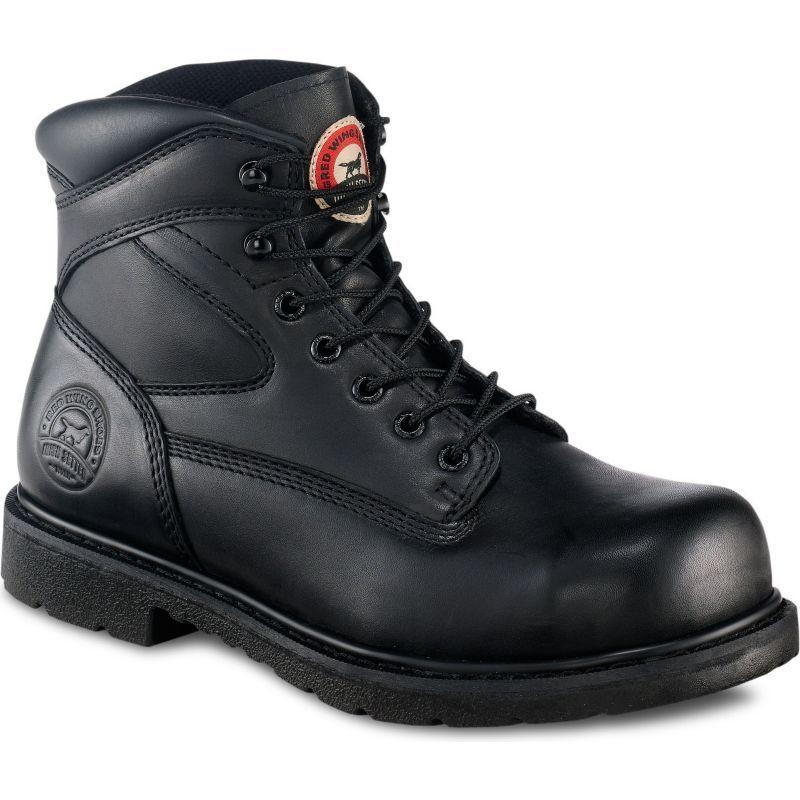 Irish Setter 6 Inch Black Kingtoe Steel Toe Work Boots 83626