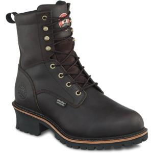 Irish Setter Men's 8 in. Waterproof Steel Toe Logger by Red Wing