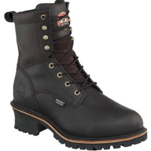 Irish Setter Men's 8 in. Insulated Waterproof Steel Toe Logger by Red Wing