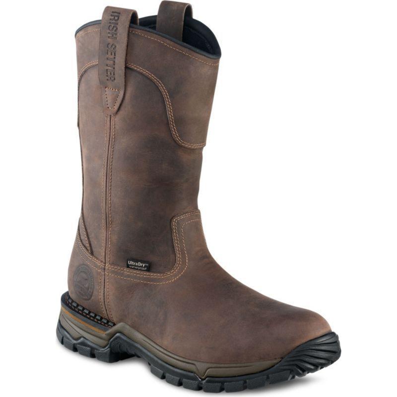 Irish Setter 11 inch Steel Toe Waterproof Pull-On Boots 83906