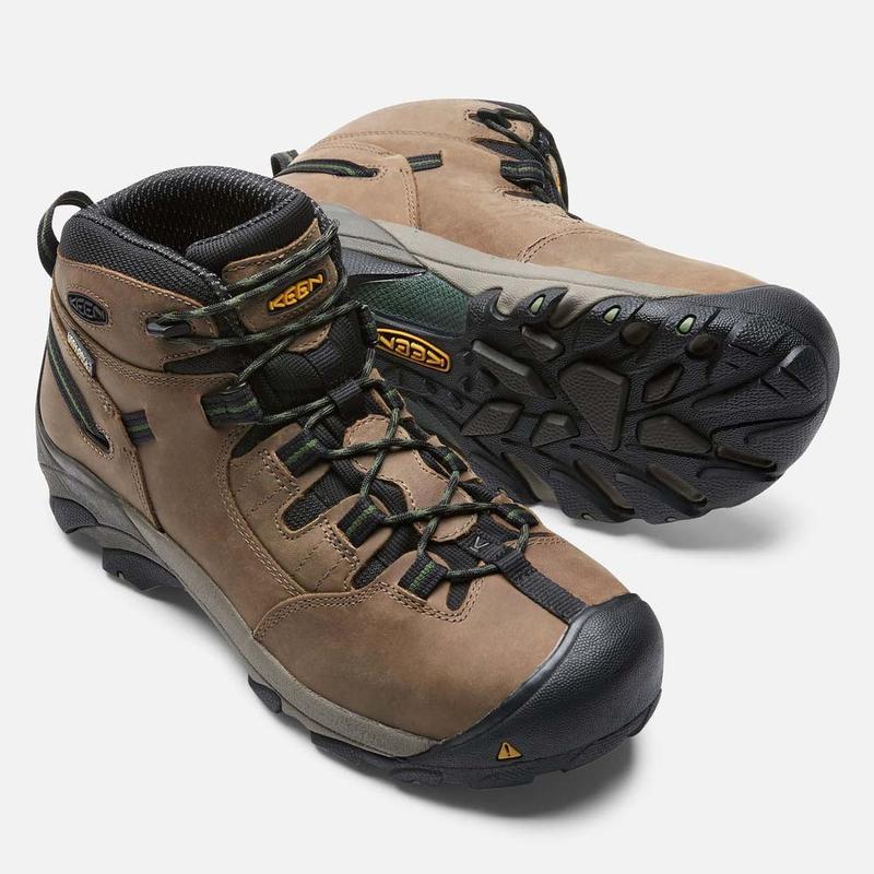 Detroit Mid Steel Toe Boots 1007003