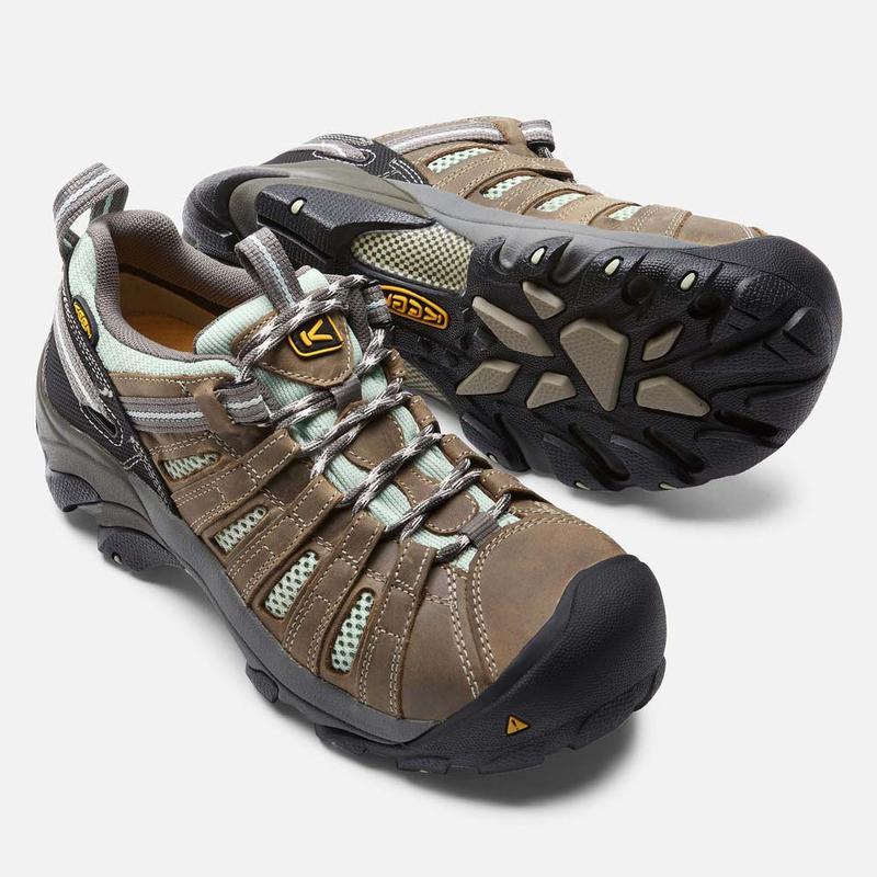 Keen Women's Flint Low Steel Toe Shoes