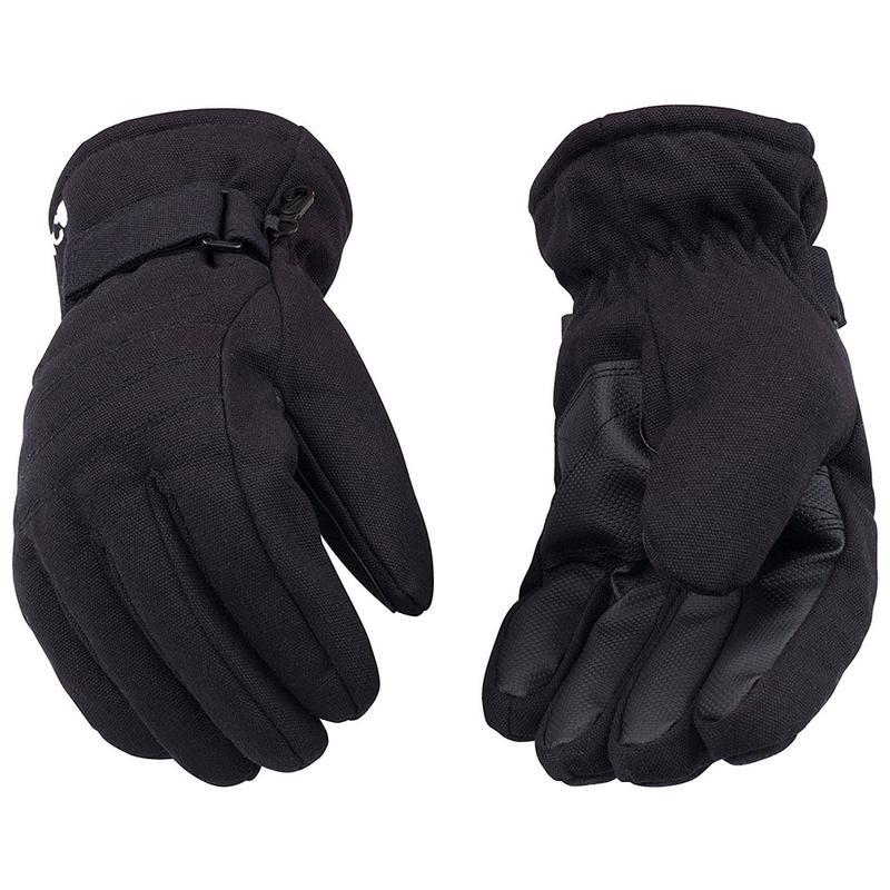 Kinco Black Ski Gloves 1171