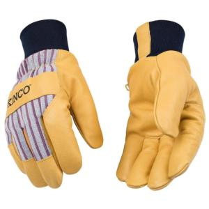 Kinco Insulated Pigskin Gloves with Knit Wrist