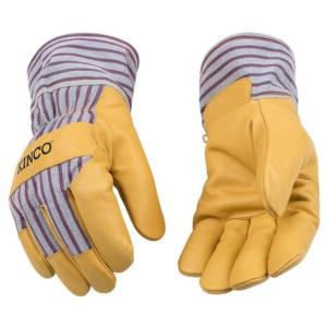 Kinco Insulated Pigskin Gloves with Safety Cuff