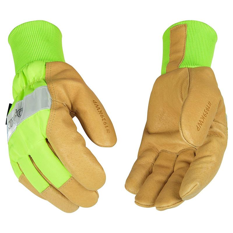 Kinco Insulated Hi Visibility Waterproof Leather Work