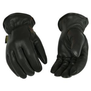 Kinco Cold Weather Lined Grain Goatskin Leather Gloves with Heatkeep