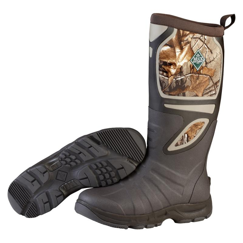 MUCK Pursuit Shadow Pull-On Winter Camo Boots