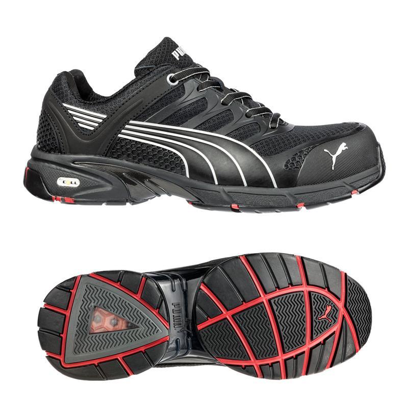 b68d4da327488e Puma Men s Fuse Motion Low Composite Safety Toe - Black 642585