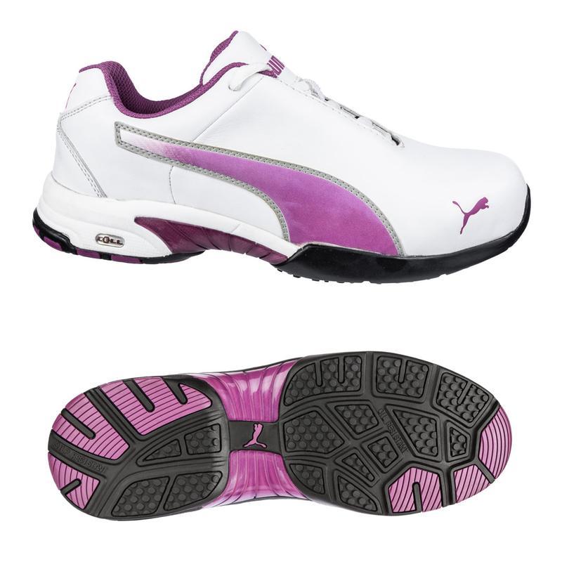 15dace86 Puma Women's Velocity Low Steel Safety Toe - White