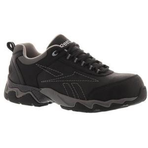 b2012d34fe14 RB1062. Reebok Men s Beamer Athletic Oxford Shoe Black. The Reebok Black  Composite Toe Work ...