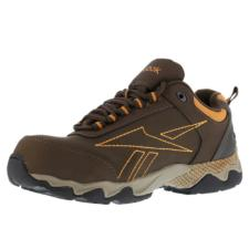 Reebok Men's Beamer Athletic Oxford Shoe Brown/Orange RB1063