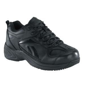 Reebok Mens Soft Toe Sure Grip Plus Athletic Oxford Work Shoe