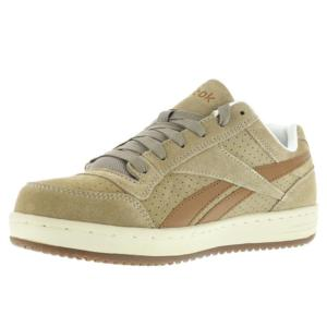 Reebok Womens Classic Steel Toe Suede Skateboard  Work Shoe