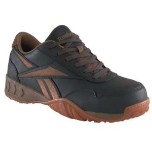 Reebok Mens Bema Low Profile Composite Toe Athletic Oxford
