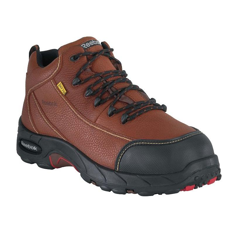 a7bf044d5d94 Reebok Mens Metatarsal Guard Composite Toe Sport Hiker Boots RB4333
