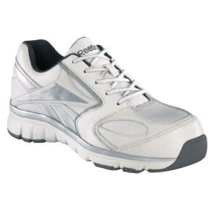 Reebok Mens  Senexis Composite Toe Leather Oxford  Shoes